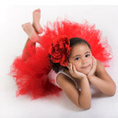 Beauty Red Super Fluffy Tutu Skirt