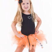 Trick Or Treat Orange Tutu