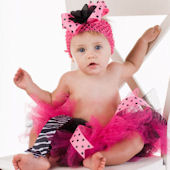 Diva Princess Couture Pink And Hot Pink Tutu Skirt