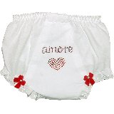 Amore Crystal Bling Diaper Cover