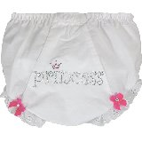 Princess Crystal Bling Diaper Cover