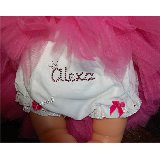 Bling Custom Name Diaper Cover