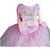 Custom Princess Rhinestone Top