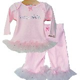 Tutu Chic Two Piece Bling Fluff Set