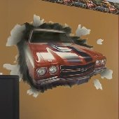 1970 Chevelle SS-396 Peel and Stick Wall Mural