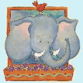 Elephant Peel and Stick Wall Mural
