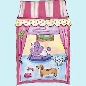 Pet Shop Window Peel and Stick Wall Mural
