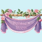 Rose Banner Peel and Stick Wall Mural