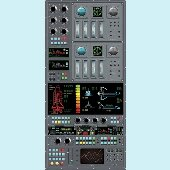 Spaceship Control Panel Peel and Stick Wall Mural