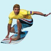 Surfer Peel and Stick Wall Mural