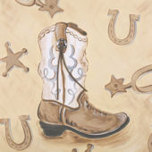Boots Canvas Wall Art