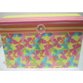Ribbon Made Butterflty Kisses Storage Case