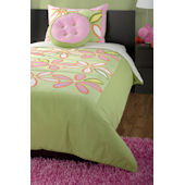 Rizzy Home Daisy Green Comforter Set