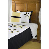 Rizzy Home Daisy Yellow Comforter Set