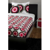 Rizzy Home Jake Red Comforter Set