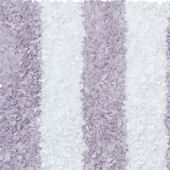 Purple Stripe Shag Rug