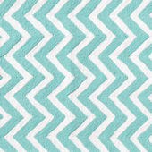 The Rug Market Chevron Teal Rug