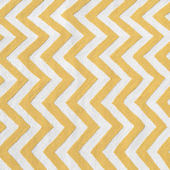 The Rug Market Chevron Yellow Rug