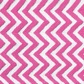 The Rug Market Chevron Pink Rug