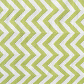 The Rug Market Chevron Lime Rug