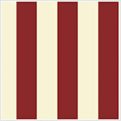 Silk Stripe Red and Almond  Wallpaper