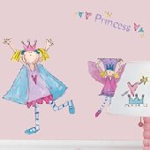 Fairy Princess Peel and Stick Appliques