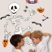 Halloween Build Your Own Skeleton Appliques