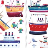 Ship Shape Peel and Stick Appliques