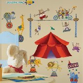 Big Top Circus Wall Stickers