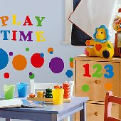 Colorful Numbers Wall Stickers