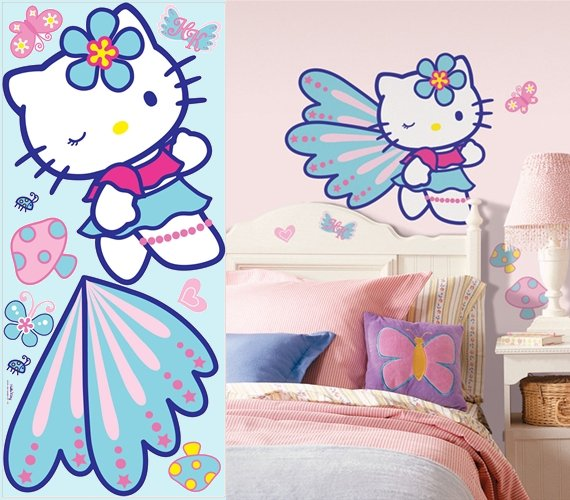 Great Hello Kitty Wall Murals Hello Kitty Giant Wall Mural The Frog And The  Princess Photo Gallery