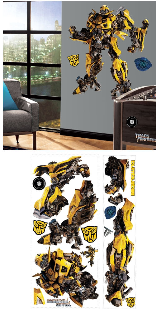 Dark of the Moon Bumblebee Giant Wall Sticker