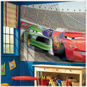 Pixar Cars Giant XL Wall Mural - 6 x 10 feet