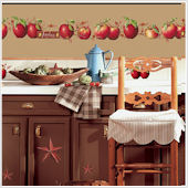 Country Apples Wall Sticker