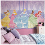 Perfect Princess XL Wall Mural 6 x10.5 ft