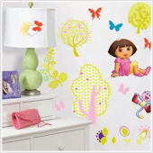 Dora the Explorer Peel and Stick Wall Stickers