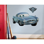 Cars 2 Finn McMissile Giant Wall Sticker