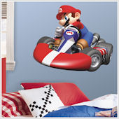 Mario Kart Wii Giant Wall Sticker