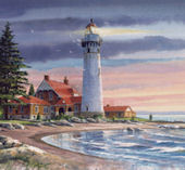 Northern Lighthouse  Mural
