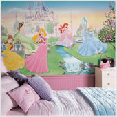 Dancing Princess XL Wall Mural 6 x10.5 ft