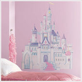 New Disney Princess Castle Giant Wall Mural