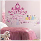 Disney Princess Crown Giant Wall Decals