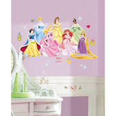 Disney Princess Holiday Peel and Stick Wall Decals