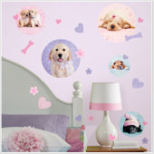 Puppy Spots Peel and Stick Wall Decals