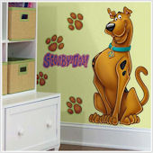 Scooby Doo Giant Peel and Stick Mural