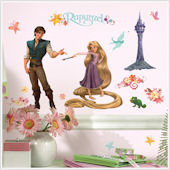 Disneys Tangled Peel and Stick Appliques