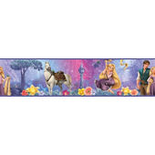 Disneys Tangled Peel and Stick Wall Border