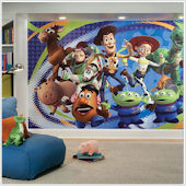 Toy Story Giant XL Wall Mural 6 x 10