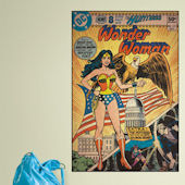 Wonder Woman Comic Book Cover Sticker