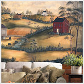 Primitive Scenery  XL Wall Mural